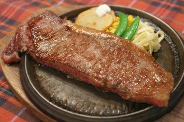 常陸牛のサーロインステーキ