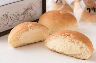 奥久慈たまごのとろーりクリームパン
