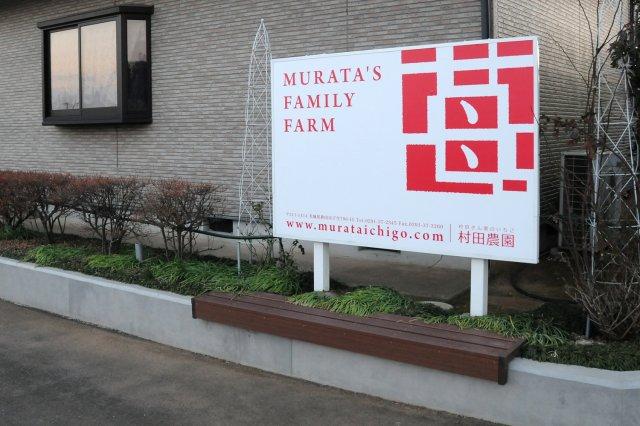 村田さん家のいちご