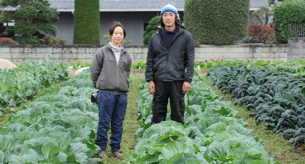 ただシンプルに、おいしい野菜を作りたい 原田悠士さん、紋子さん(水戸市)