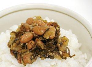 野沢菜水戸納豆