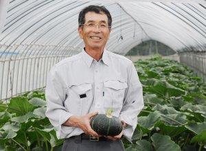JA稲敷江戸崎南瓜部会 部会長 中村利夫さん