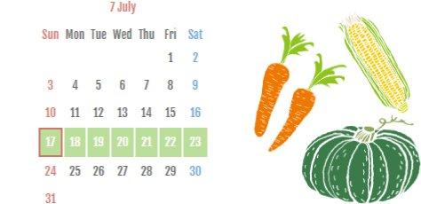 茨城をたべようDay、茨城をたべようWeek 7月