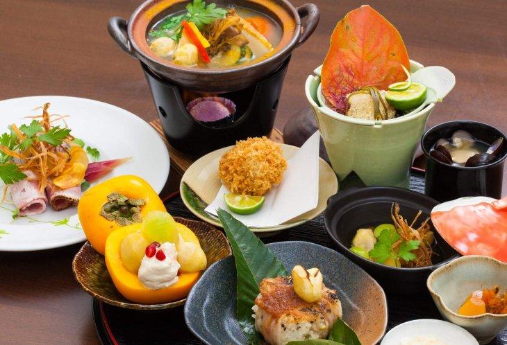 kitchen晴人 日本一の笠間の栗のフルコース
