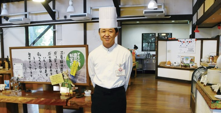 森の家庭料理レストラン 店長 田村 勇人さん(茨城町)