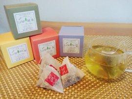 しょうが茶シリーズ(しょうが緑茶、しょうが紅茶、しょうがほうじ茶、しょうがマローブル茶)各1箱入りセット