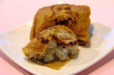招福 たこ稲荷寿司