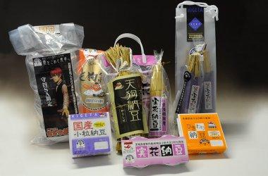 実花納豆(わら・カップ)  国産小粒納豆  ひきわり納豆