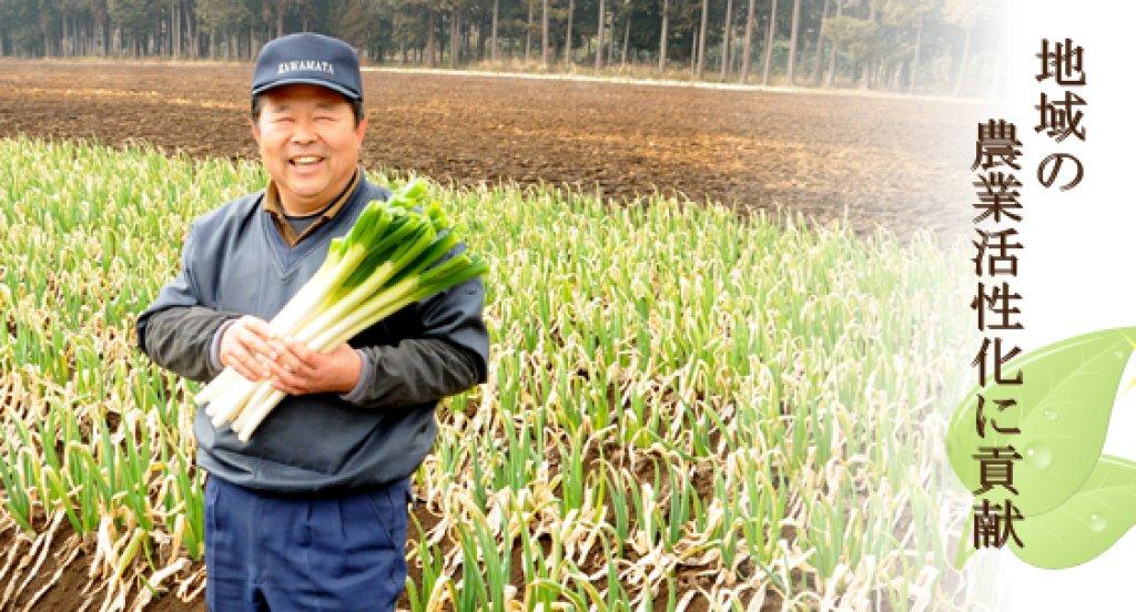 地域性のある計画的農業 篠崎真一郎さん(笠間市)