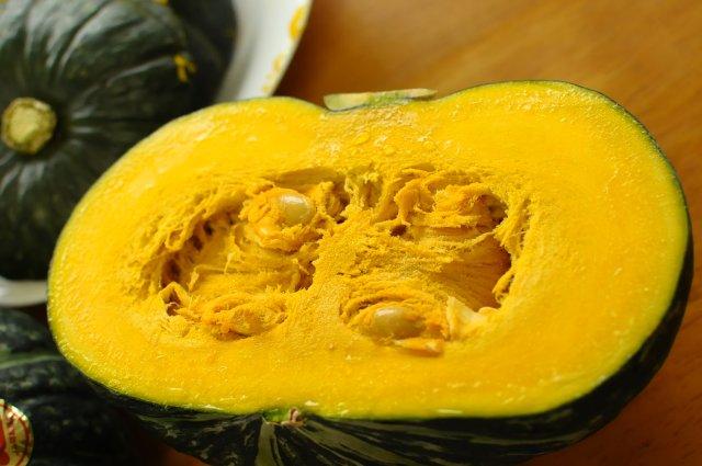 かぼちゃが頑張る力の源2