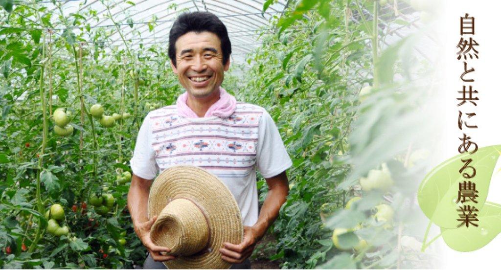 県北地方の有機農家のリーダー的存在 布施大樹さん(常陸太田市)