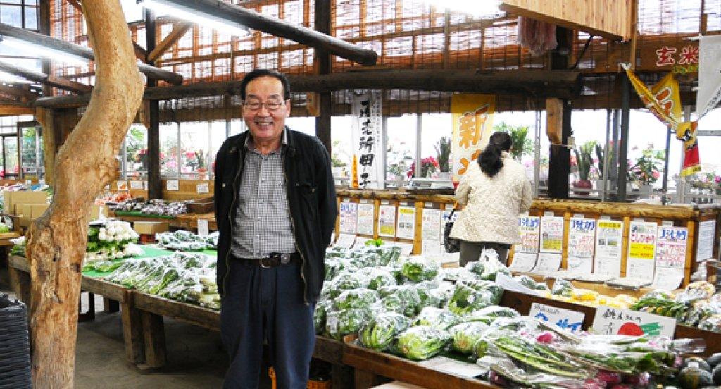 みずほの村市場創設者 長谷川久夫さん(つくば市)