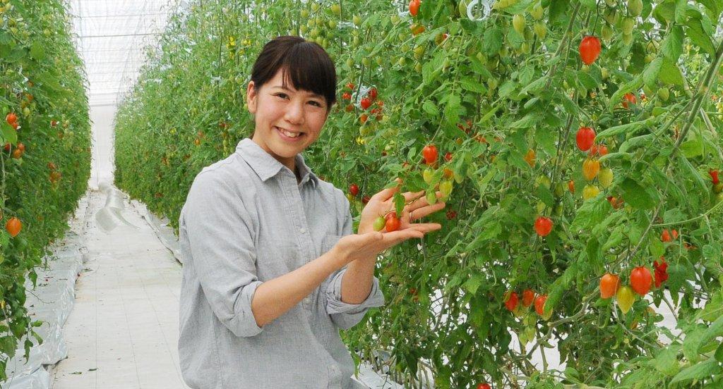 ドロップファーム 三浦綾佳さん(水戸市)