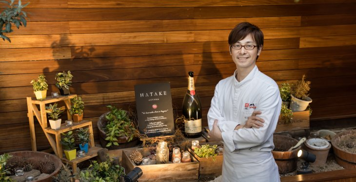 HATAKE AOYAMAオーナーシェフ いばらき食のアンバサダー 神保佳永さん(東京都)