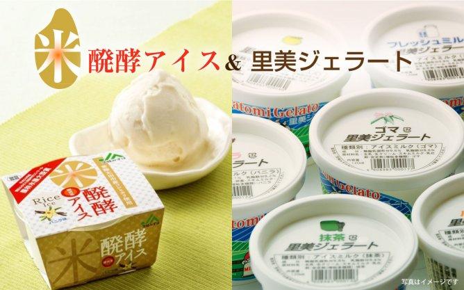 第286回 自然な甘さ【米醗酵アイス&里美ジェラート】