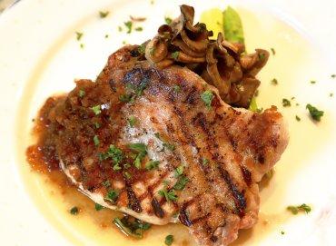ママノエル 明豚のステーキ