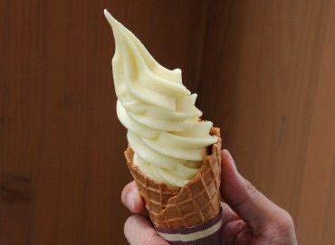 いばらき梨ソフトクリーム