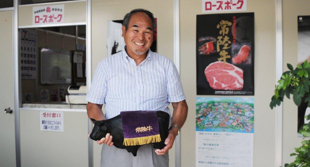 常陸牛を海外に届けた男 谷口 勇さん(茨城町)