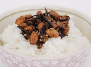 梅ひじき水戸納豆調理イメージ