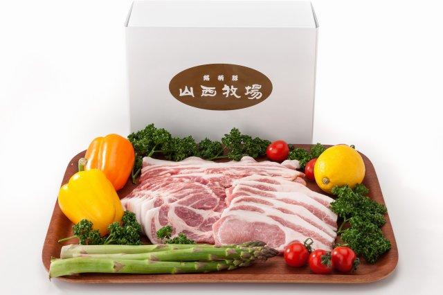 山西牧場の豚肉