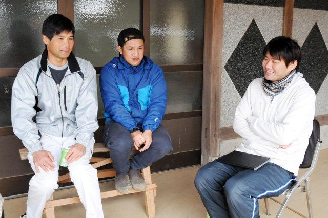 (左から)石田さん、郡司さん、高野さん