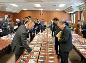 令和元年11月 茨城県水産製品品評会の様子