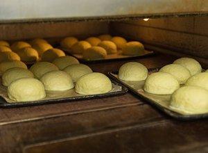 メロンパンを焼く