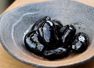常陸大黒 煮豆 中身