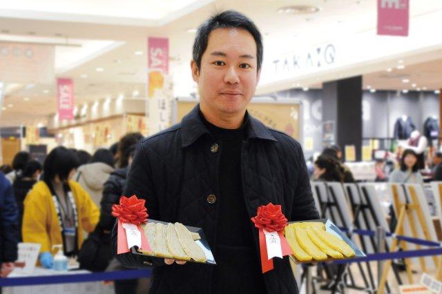 2年連続2部門金賞を受賞した黒澤さん