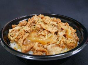 行方の米ぶた丼 調理イメージ