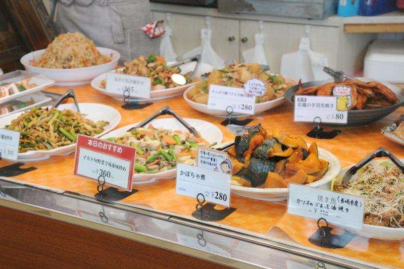 So-zai お惣菜がズラリ