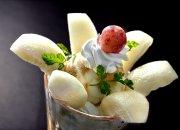 久慈サンピア日立で「梨の贅沢パフェ」を味わう♪の巻