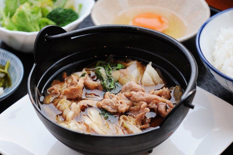 日替わり/豚すき煮鍋