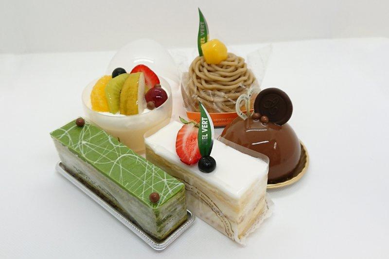 シエルヴェールのケーキたち