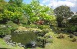 雪村庵 新緑の庭園