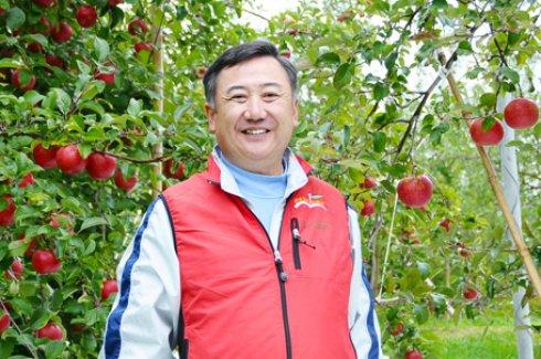県内で初めてりんごの木を植えた)