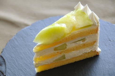じゅわっと幸せなメロンショートケーキを堪能♪の巻)