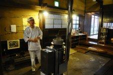 古き良き日本の旧式ストーブ