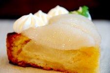 茨城秋梨のアーモンドケーキ
